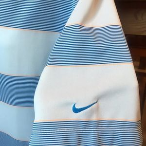 Nike Golf Dri-Fit Shirt XXL Striped